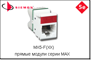 MX5-F(XX) Siemon Madex